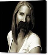 Movember Twentieth Canvas Print