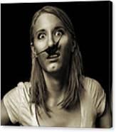Movember Twentyfifth Canvas Print