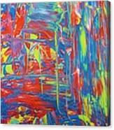 Movements Of Acrylic Canvas Print