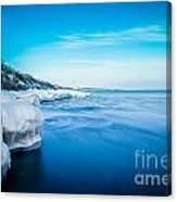 Moving Ice Canvas Print