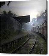 Moving Train Canvas Print