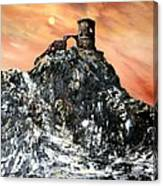 Mow Cop Castle Staffordshire Canvas Print