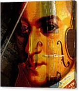 Mozart Canvas Print