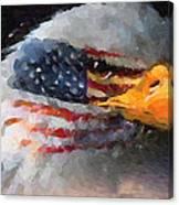 Mr. American Eagle Canvas Print