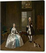 Mr And Mrs Atherton Canvas Print