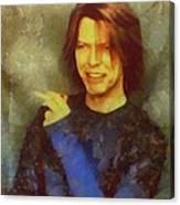 Mr Bowie Canvas Print