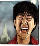 Mr. Chow Hangover Part 2 Canvas Print