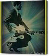 Mr. Chuck Berry Blueberry Hill Style Canvas Print