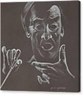 Mr Conductor Canvas Print