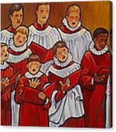 Mr Jameson's Boys Canvas Print