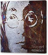 Mr Lennon Canvas Print