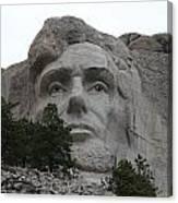 Mr Lincoln Canvas Print