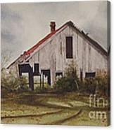 Mr. Munker's Old Barn Canvas Print
