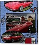 Mr. Sox Corvette Canvas Print