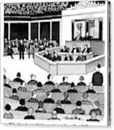 Mr. Speaker Canvas Print