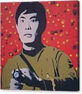 Mr Sulu Canvas Print