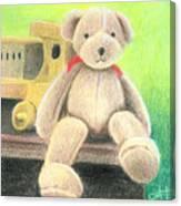 Mr Teddy Canvas Print