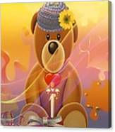 Mr. Teddy Bear Canvas Print