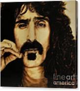 Mr Zappa Canvas Print