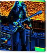 Mrdog #99 Enhanced In Cosmicolors Crop 2 Canvas Print