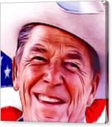Mr.president 2 Canvas Print