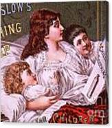 Mrs Winslow's Soothing Syrup Canvas Print