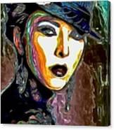 Ms Boss Lady Canvas Print
