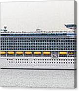 M S Independence Of The Seas Canvas Print