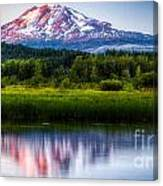 Mt Adams Sunset Canvas Print