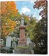 Mt Auburn Cemetery 1 Canvas Print