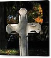 Mt Auburn Cemetery 9 Canvas Print
