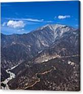 Mt. Baldy Canvas Print