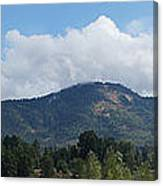 Mt Baldy Panorama From Grants Pass Canvas Print