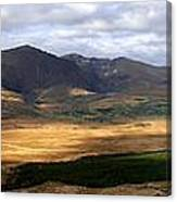 Mt. Brandon Panorama Canvas Print