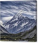 Mt. Cook Canvas Print