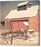 Mt. Cube Farm Old Sugar Shack Canvas Print