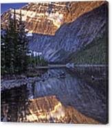 Mt Edith Cavell Reflection Canvas Print