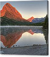 Mt. Grinnell Sunrise Canvas Print