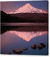 Mt Hood Reflection Canvas Print