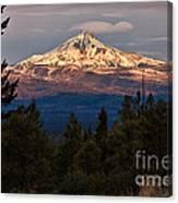Mt. Jefferson At Dawn Canvas Print