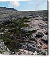 Mt Katahdin Appalachian Trail Canvas Print