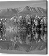 Mt Katahdin Baxter State Park Fall Canvas Print