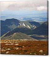 Mt. Katahdin Tablelands Canvas Print