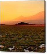 Mt Kilimanjaro Canvas Print
