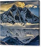Mt Lhotse Canvas Print