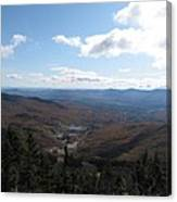 Mt Mansfield Looking East Canvas Print