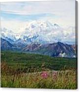 Mt. Mckinley Denali National Park Canvas Print