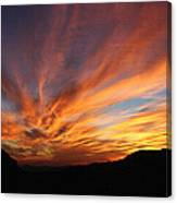 Mt Ord Sunset Arizona Canvas Print