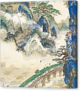 Mt Penglai Mountain Of Immortals Canvas Print