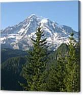 Mt. Rainier In Summer Canvas Print